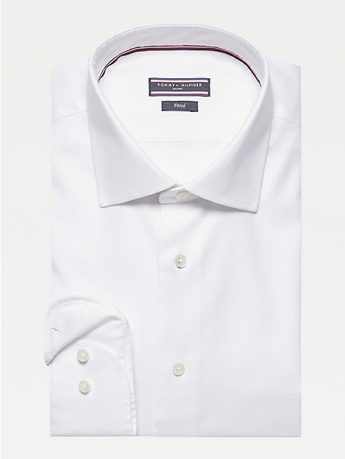 TOMMY HILFIGER Camicia in cotone Oxford - 100 - TOMMY HILFIGER Tailored - immagine principale