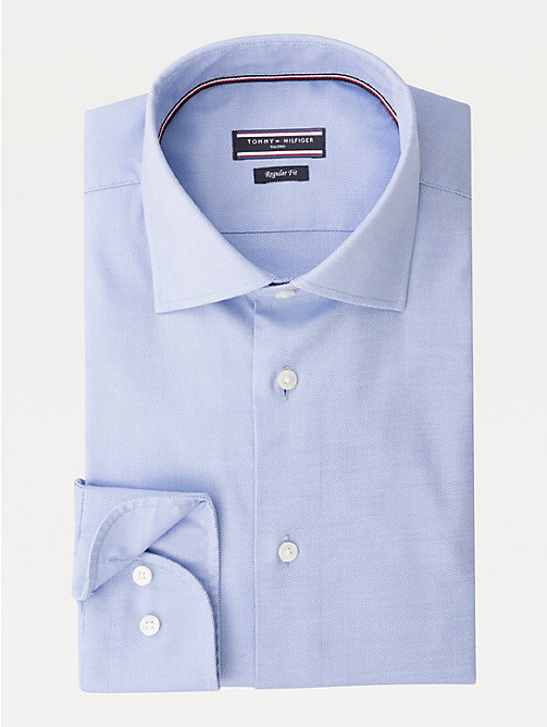 TOMMY HILFIGER Oxford Cotton Woven Shirt - 415 - TOMMY HILFIGER Formal Shirts - detail image 1