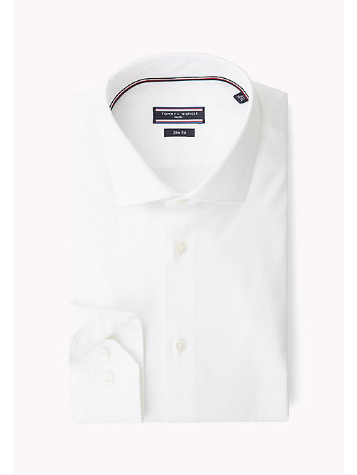 TOMMY HILFIGER Stretch Slim Fit Shirt - 100 - TOMMY HILFIGER Formal Shirts - detail image 1