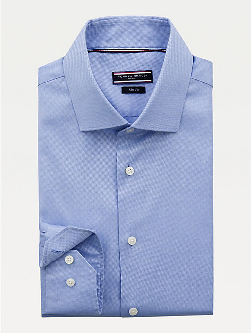 TOMMY HILFIGER Stretch Slim Fit Shirt - 415 - TOMMY HILFIGER Formal Shirts - main image