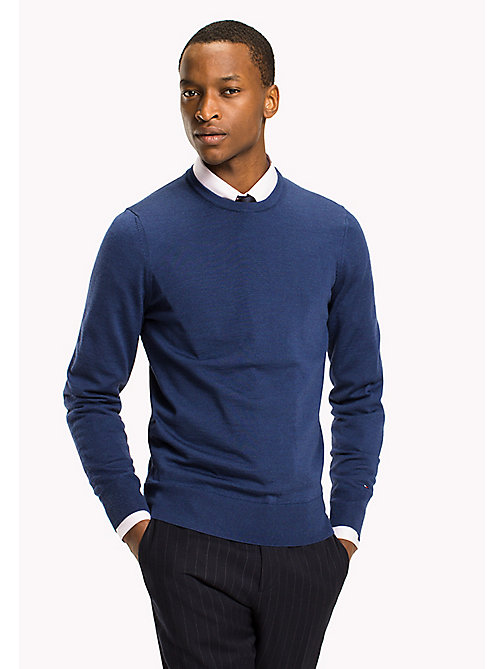 TOMMY HILFIGER Wool Jumper - LIMOGES - TOMMY HILFIGER Clothing - main image