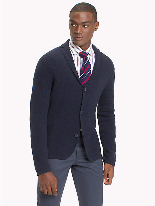 TOMMY HILFIGER Cardigan Blazer - SKY CAPTAIN - TOMMY HILFIGER Suits & Tailored - main image