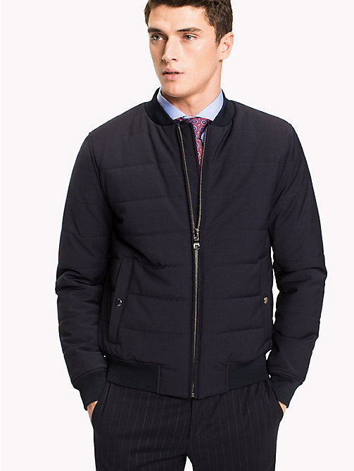 TOMMY HILFIGER Bomber Jacket - MIDNIGHT - TOMMY HILFIGER Coats & Jackets - main image