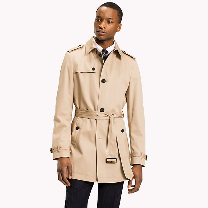 TOMMY HILFIGER Single breasted trench - 429 - TOMMY HILFIGER Kleding - main image
