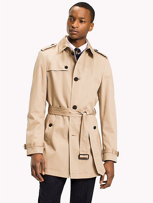 TOMMY HILFIGER Single breasted trench - 205 - TOMMY HILFIGER Jassen & Jacks - main image