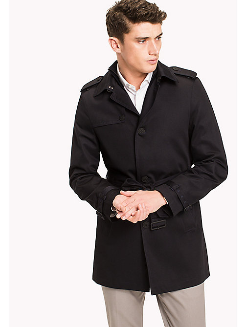 TOMMY HILFIGER Single breasted trench - 429 - TOMMY HILFIGER Jassen & Jacks - main image