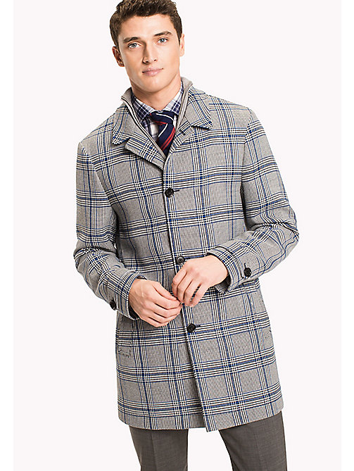 TOMMY HILFIGER Checked Mac - 415 - TOMMY HILFIGER Coats & Jackets - main image
