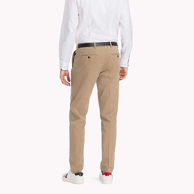 TOMMY HILFIGER Slim Fit Chinos - 429 - TOMMY HILFIGER Clothing - detail image 1