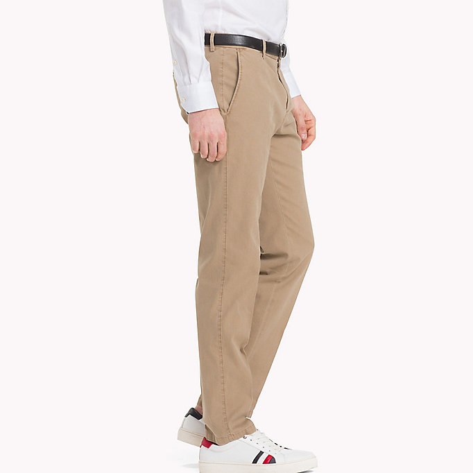 TOMMY HILFIGER Slim Fit Chinos - 429 - TOMMY HILFIGER Clothing - detail image 2