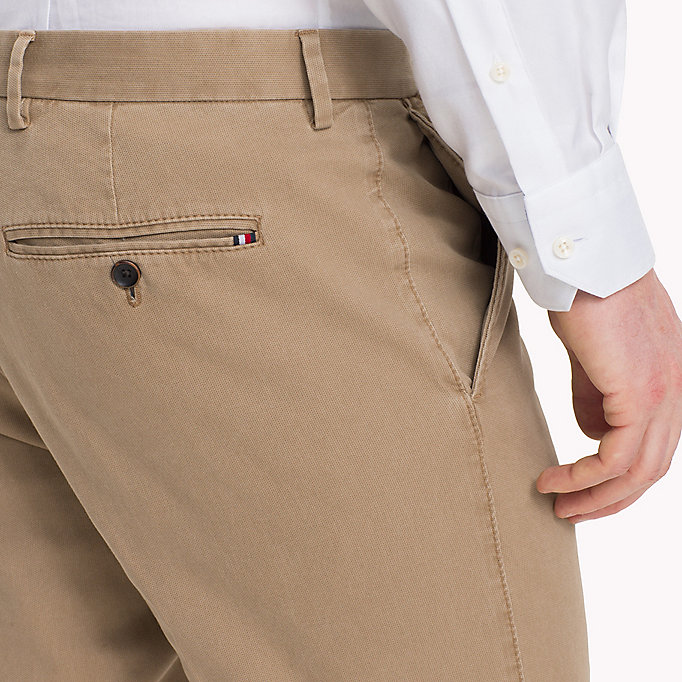 TOMMY HILFIGER Slim Fit Chinos - 429 - TOMMY HILFIGER Clothing - detail image 3