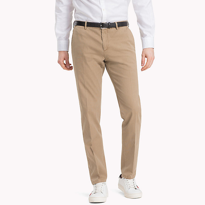 TOMMY HILFIGER Slim Fit Chinos - 429 - TOMMY HILFIGER Clothing - main image