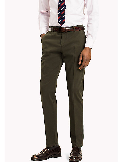 TOMMY HILFIGER Slim Fit Chinos - 306 - TOMMY HILFIGER Trousers - main image