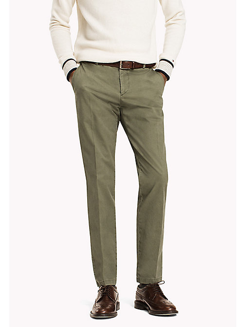 TOMMY HILFIGER Slim Fit Chinos - 303 - TOMMY HILFIGER Trousers - main image