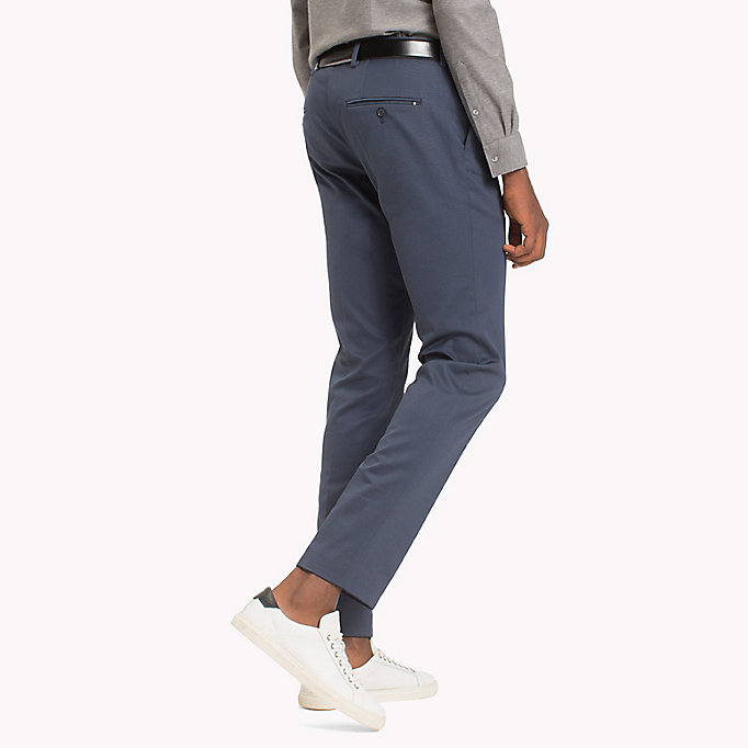 TOMMY HILFIGER Extra Slim Fit Trousers - 006 - TOMMY HILFIGER Clothing - detail image 1