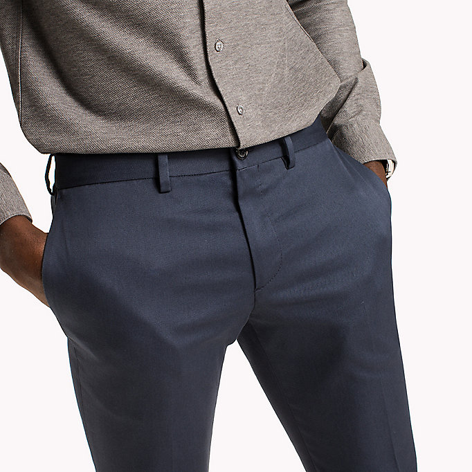 TOMMY HILFIGER Extra Slim Fit Trousers - 006 - TOMMY HILFIGER Clothing - detail image 3