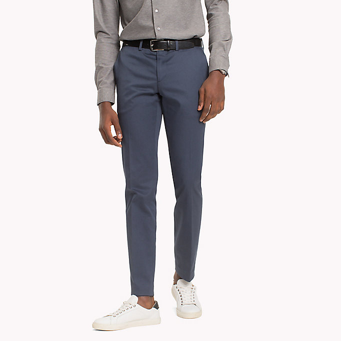 TOMMY HILFIGER Extra Slim Fit Trousers - 006 - TOMMY HILFIGER Clothing - main image