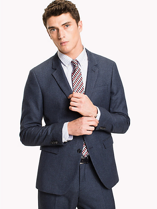 TOMMY HILFIGER Slim Fit Suit Separate Blazer - 424 -  Clothing - main image