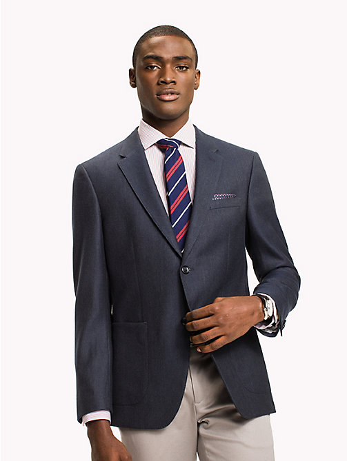 TOMMY HILFIGER Fitted Suit Separate Blazer - 423 - TOMMY HILFIGER Suits & Tailored - main image
