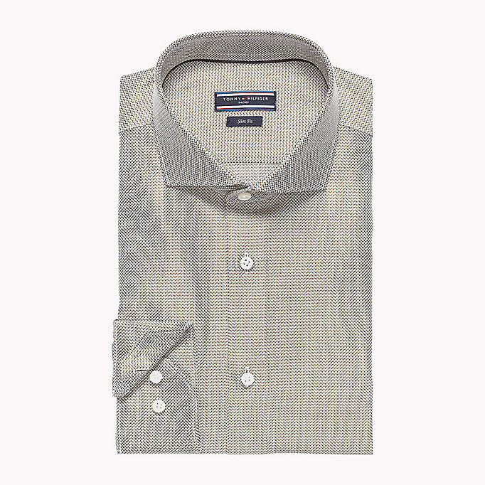 TOMMY HILFIGER Shawn Slim Fit Shirt - 410 - TOMMY HILFIGER Clothing - detail image 1