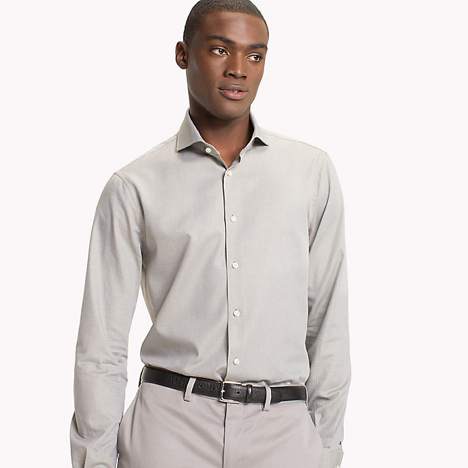 TOMMY HILFIGER Shawn Slim Fit Shirt - 410 - TOMMY HILFIGER Clothing - main image