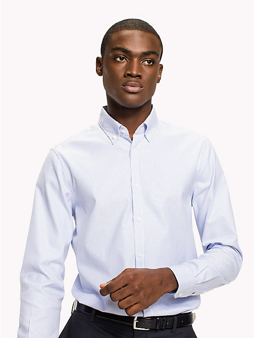 TOMMY HILFIGER Logan Slim Fit Shirt - 410 - TOMMY HILFIGER Tailored - main image