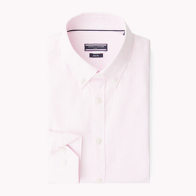 TOMMY HILFIGER Logan Slim Fit Shirt - 410 - TOMMY HILFIGER Clothing - detail image 3