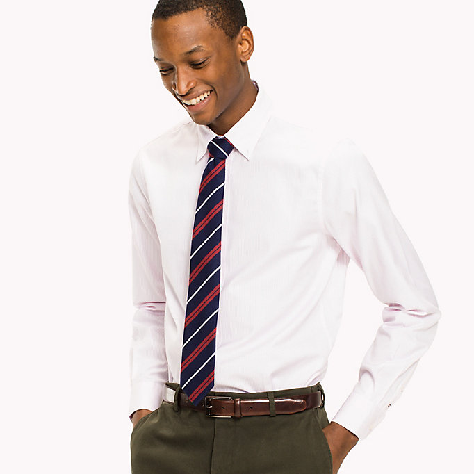 TOMMY HILFIGER Logan Slim Fit Shirt - 410 - TOMMY HILFIGER Clothing - main image