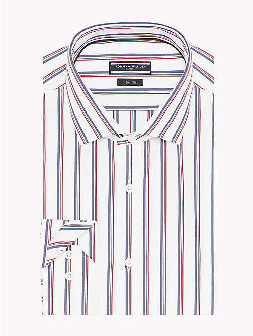 TOMMY HILFIGER Slim fit overhemd - 100 - TOMMY HILFIGER Tailored - detail image 1