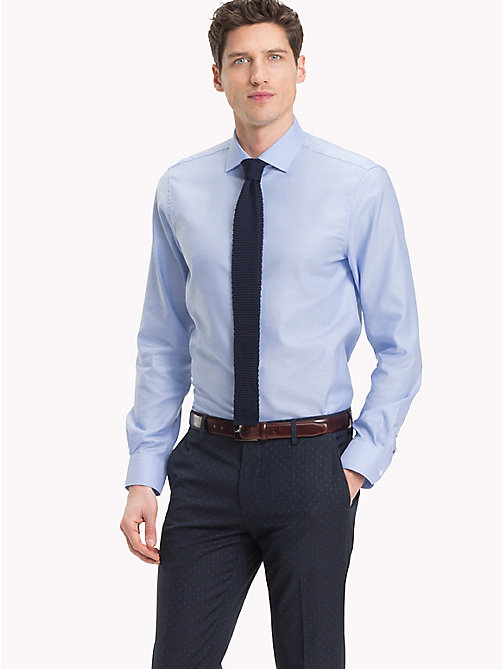 TOMMY HILFIGER Slim Fit Shirt - 400 - TOMMY HILFIGER Formal Shirts - main image