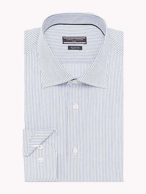 TOMMY HILFIGER Regular Fit Striped Shirt - 410 - TOMMY HILFIGER Tailored - detail image 1