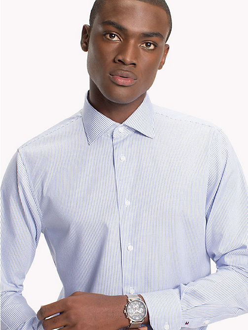 TOMMY HILFIGER Regular Fit Striped Shirt - 410 - TOMMY HILFIGER Tailored - main image