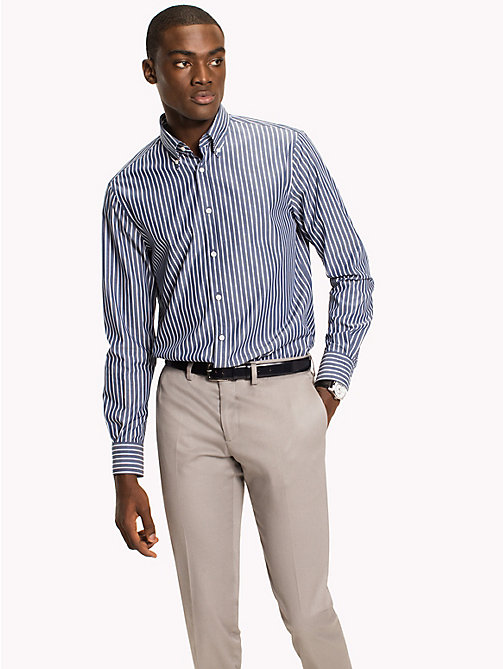 TOMMY HILFIGER Regular Fit Striped Shirt - 420 - TOMMY HILFIGER Tailored - main image