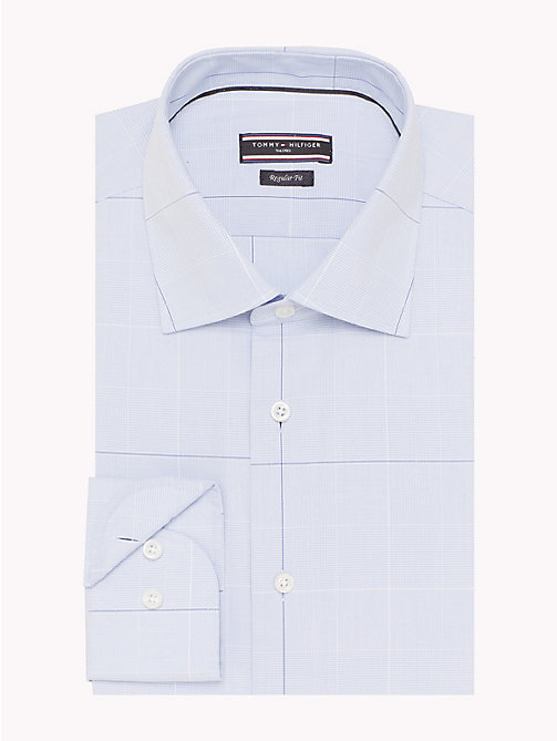 TOMMY HILFIGER Regular Fit Checkered Shirt - 410 - TOMMY HILFIGER Tailored - detail image 1