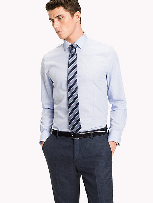 TOMMY HILFIGER Regular Fit Checkered Shirt - 410 - TOMMY HILFIGER Tailored - main image