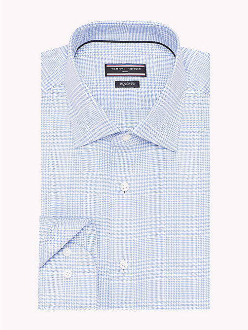 TOMMY HILFIGER Regular Fit Checkered Shirt - 400 - TOMMY HILFIGER Tailored - detail image 1