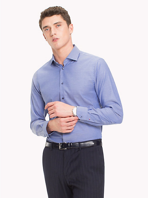 TOMMY HILFIGER Slim Fit Shirt - 412 - TOMMY HILFIGER Tailored - main image
