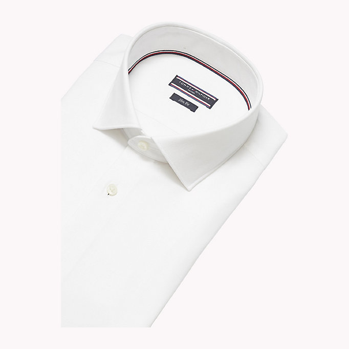 TOMMY HILFIGER Slim Fit Shirt - 413 - TOMMY HILFIGER Men - detail image 4