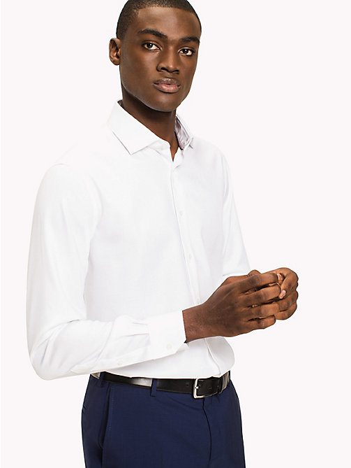 TOMMY HILFIGER Slim Fit Shirt - 100 - TOMMY HILFIGER Tailored - main image