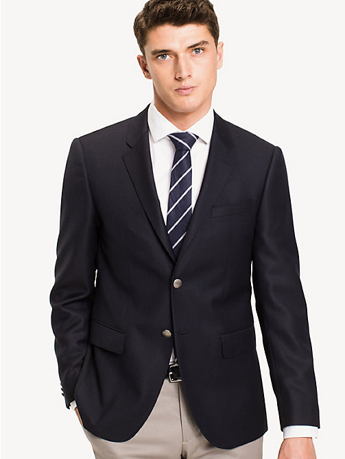 TOMMY HILFIGER Fitted Suit Separate Blazer - 429 - TOMMY HILFIGER Basics - main image