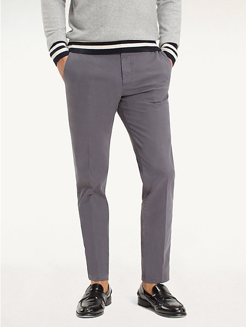 TOMMY HILFIGER Twill katoenen broek - 015 - TOMMY HILFIGER Tailored broeken - main image
