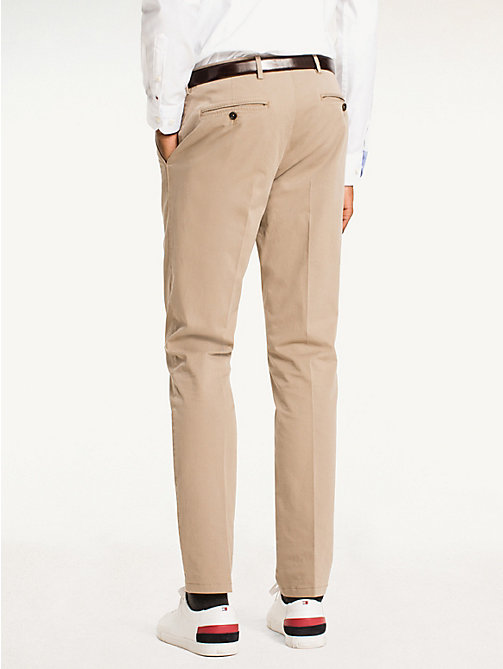 TOMMY HILFIGER Cotton Twill Trousers - 203 - TOMMY HILFIGER What to Wear - detail image 1