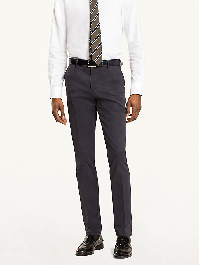 TOMMY HILFIGER Slim Fit Chinos - 203 - TOMMY HILFIGER Men - main image