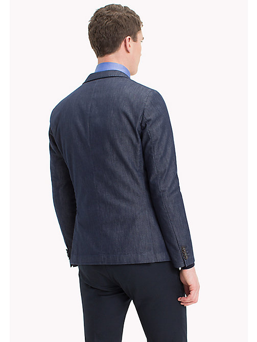 TOMMY HILFIGER Slim Fit Denim Blazer - 426 - TOMMY HILFIGER Clothing - detail image 1