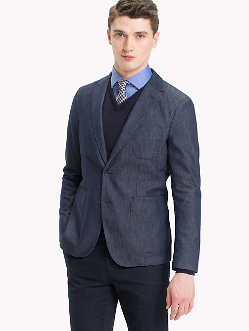 TOMMY HILFIGER Slim Fit Denim Blazer - 426 - TOMMY HILFIGER Clothing - main image
