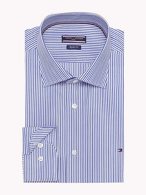 TOMMY HILFIGER Regular Fit Striped Shirt - 415 - TOMMY HILFIGER Formal Shirts - detail image 1