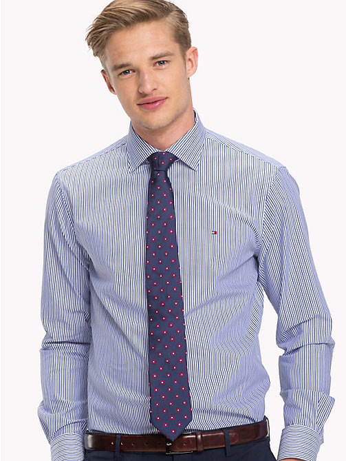 TOMMY HILFIGER Regular Fit Striped Shirt - 415 - TOMMY HILFIGER Formal Shirts - main image