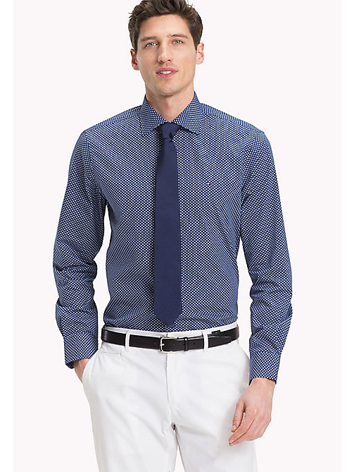 TOMMY HILFIGER Regular Fit Printed Shirt - 425 - TOMMY HILFIGER Formal Shirts - main image