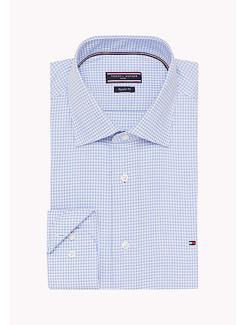 TOMMY HILFIGER Regular Fit Checkered Shirt - 415 - TOMMY HILFIGER Formal Shirts - detail image 1