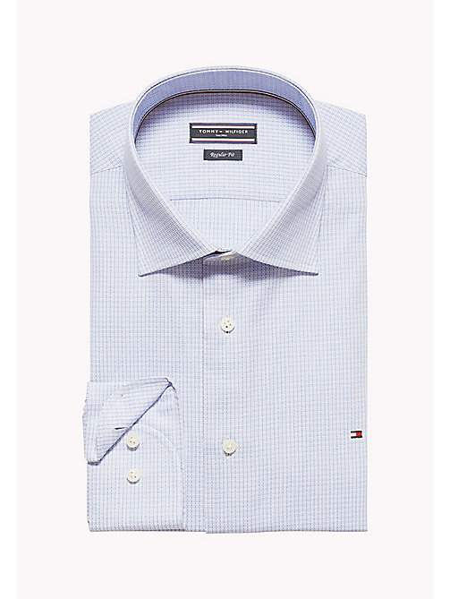 TOMMY HILFIGER Jhn Fitted Printed Shirt - 410 - TOMMY HILFIGER Tailored - detail image 1