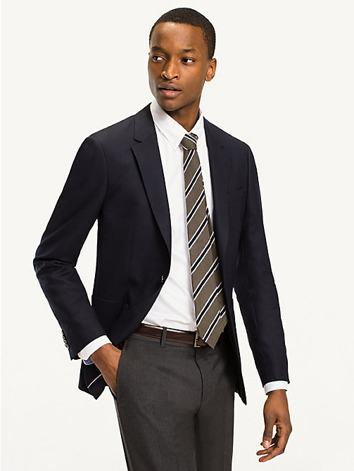 TOMMY HILFIGER Slim Fit Suit Separate Blazer - 429 - TOMMY HILFIGER Basics - main image